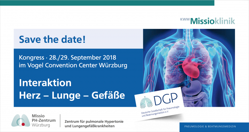 SAVE THE DATE: Interaktion: Herz – Lunge – Gefäße